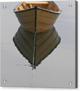Lonely Boat Acrylic Print
