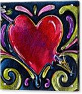 Lonely Hearts Acrylic Print