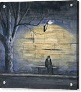 Lonely In Paris Acrylic Print