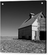 Lonely Old Barn Acrylic Print