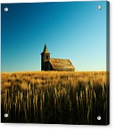 Lonely Old Church Acrylic Print