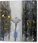 Lonely On A Street Acrylic Print