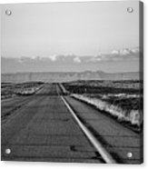 Lonely Route 24 Acrylic Print