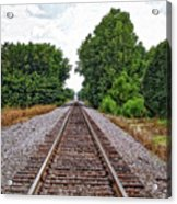 Lonely Track Acrylic Print