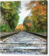 Lonely Tracks Acrylic Print