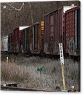 Lonely Traveler Acrylic Print