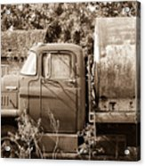 Lonely Truck Acrylic Print