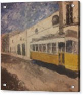 Lonelytram Acrylic Print