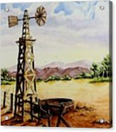 Lonesome Prairie Acrylic Print