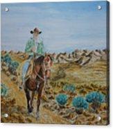 Lonesome Trail Acrylic Print