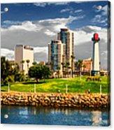 Long Beach Coast Line Acrylic Print