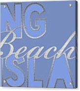 Long Beach Island Acrylic Print