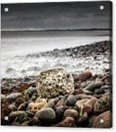 Long Exposure At Lawrencetown Beach, Nova Scotia Acrylic Print
