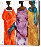 Long Ladies Acrylic Print