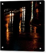 Long Lights At Night Acrylic Print