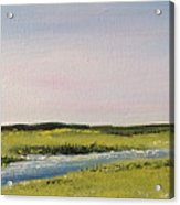 Long Marsh Acrylic Print
