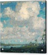 Long Point Marsh Acrylic Print