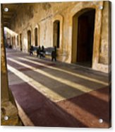 Long Shadows In San Cristobal Acrylic Print
