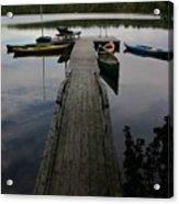 Long Walk On Dock Acrylic Print