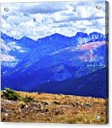 Longs Peak Rocky Mountain National Park Acrylic Print