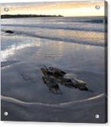 Longsands Rock 2 Acrylic Print by Catherine Easton