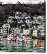 Looe Harbour - Cornwall Acrylic Print