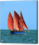 Looe Lugger 'our Daddy' Acrylic Print