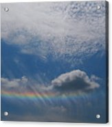 Look At The Sky Acrylic Print