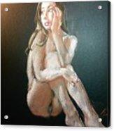 Look Away Acrylic Print