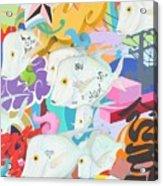 Look Down The Street Acrylic Print