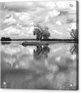 Looking Across J. C. Murphy Lake Acrylic Print