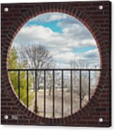 Looking Brick Acrylic Print