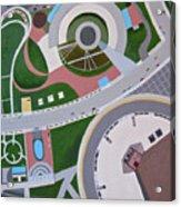 Looking Down In Toronto Acrylic Print