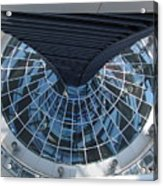 Looking Down The Reichstag Berlin Acrylic Print