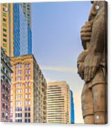 Looking Downtown Acrylic Print