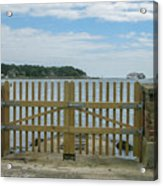 Looking From Brownsea Towards Sandbanks And Shell Bay Acrylic Print