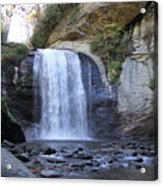 Looking Glass Falls Acrylic Print