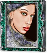 Looking Glass Acrylic Print
