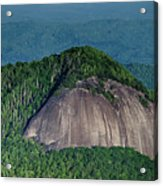 Looking Glass Rock Mountain In North Carolina Acrylic Print