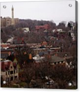 Looking North From  Lafayette And Summit. Acrylic Print