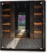 Looking Through John Oliver's Cabin Acrylic Print
