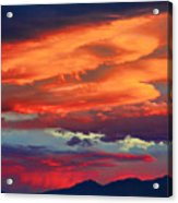Looking To Boulder Acrylic Print