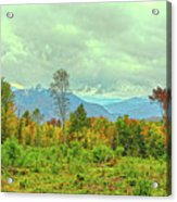 Looking To The Mountains Acrylic Print