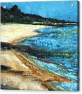 Looking Toward Old Glory Acrylic Print