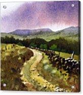 Looking Towards Pole Moor Acrylic Print