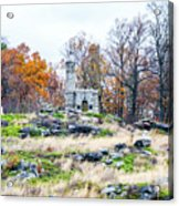 Looking Towards The Top Of Little Round Top Acrylic Print