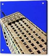 Looking Up At The Foshay Tower Acrylic Print