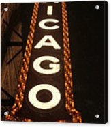 Looking Up Chicago Acrylic Print