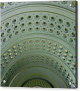 Looking Up In Union Station -- A Westward View Acrylic Print