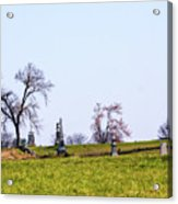 Looking Up The Union Line Acrylic Print
